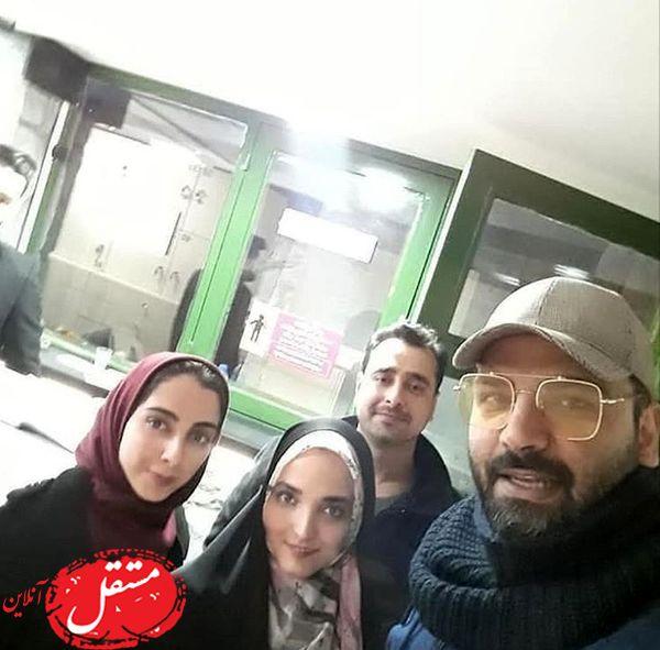 احسان علیخانی در میان هوادارانش + عکس