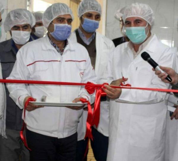 راهاندازی خط تولید جدید در «غگیلا»