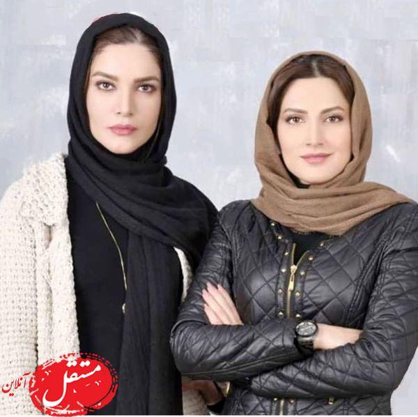متین ستوده و هم تیمیش در رالی ایرانی + عکس