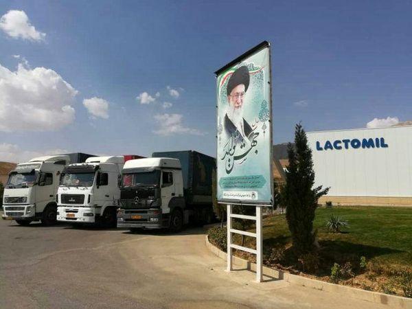 صادرات شیر خشک نوزاد پگاه به سوریه