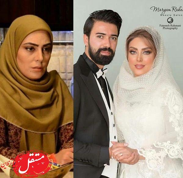 تغییرات چشمگیر خانم بازیگر در روز عروسیش + عکس