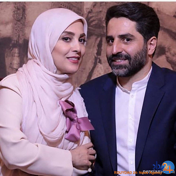 مجری جنجالی( ژیلا صادقی) و همسرش + تصاویر