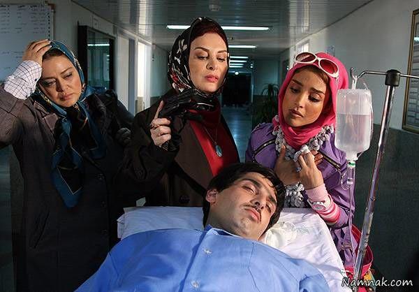 زهرا امیرابراهیمی و بهاره رهنما و افسانه بایگان و الهه حصاری در فیلم ما سه نفر