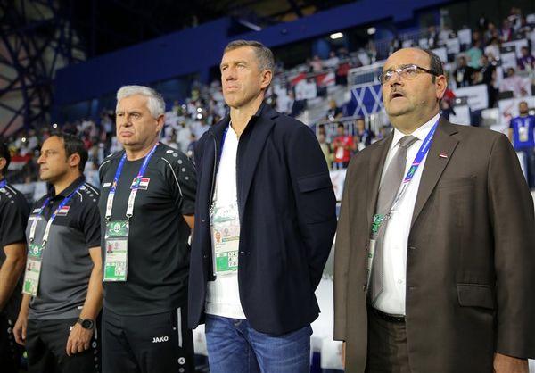 کاتانتس از هدایت تیم ملی فوتبال عراق کنارهگیری کرد