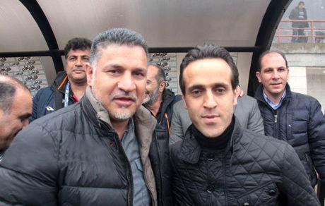 علی کریمی در آغوش همسر لاکچری و با کلاسش + عکس