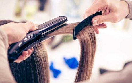 هنگام اتو کشیدن مو باید خشک، خیس یا نمناک باشه ؟