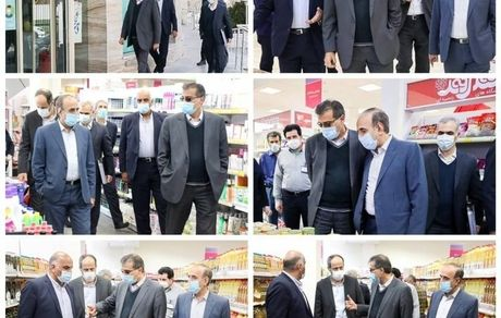 بازدید مدیرعامل شرکت شهروند از فروشگاه شهروند ایران زمین