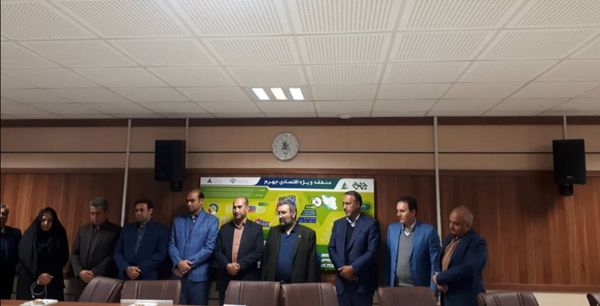 بازدید معاون وزیر صمت از منطقه ویژه اقتصادی جهرم