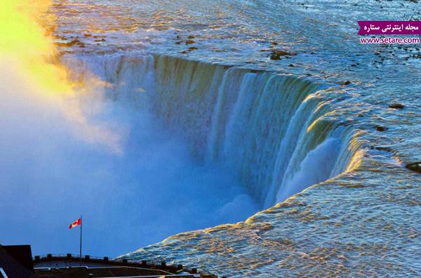 آبشار نیاگارا، کانادا، آمریکا، منبع برق