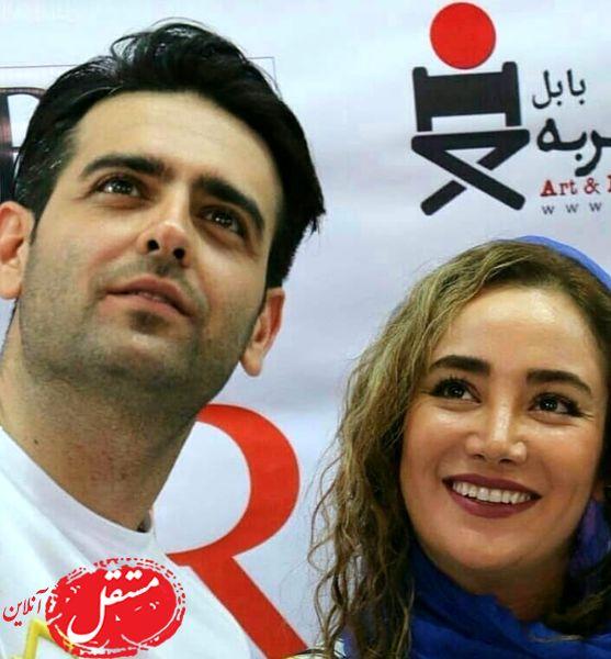 سلفی امیرحسین آرمان با بهاره افشاری + عکس