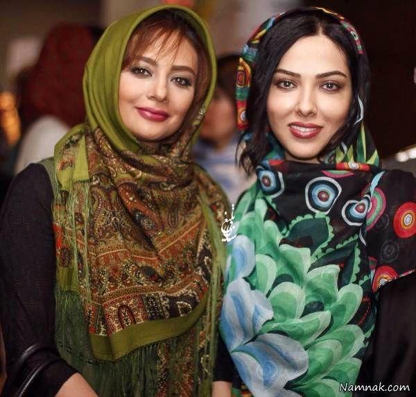 یکتا ناصر و لیلا اوتادی در کنارهم
