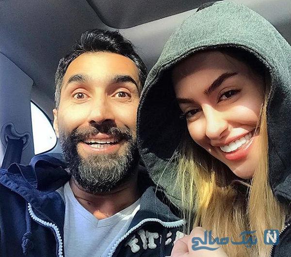 سمانه پاکدل و همسرش   تصاویر هادی کاظمی و همسرش سمانه پاکدل بازیگر ...