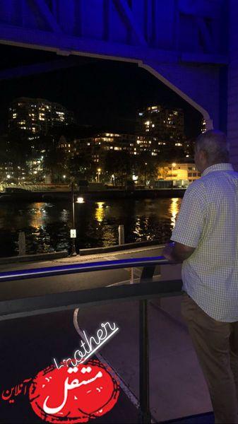 برادر شبنم قلی خانی در شب های سیدنی + عکس