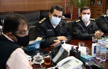 همکاری بهشت زهرا(س) با پلیس راهور در سالهای اخیر در بالاترین سطح بوده است