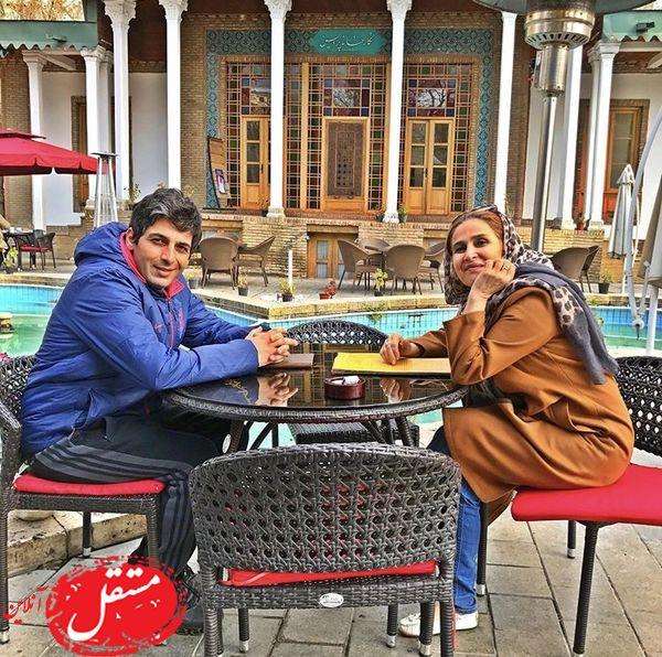 حمیدگودرزی با مادرش + عکس