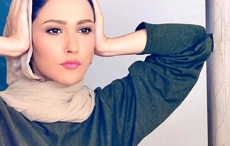 ظاهر جدید آدرینا صادقی بازیگر سریال احضار + تصاویر