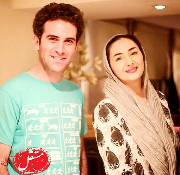 هانیه توسلی در کنار آقا حبیب مشهور + عکس