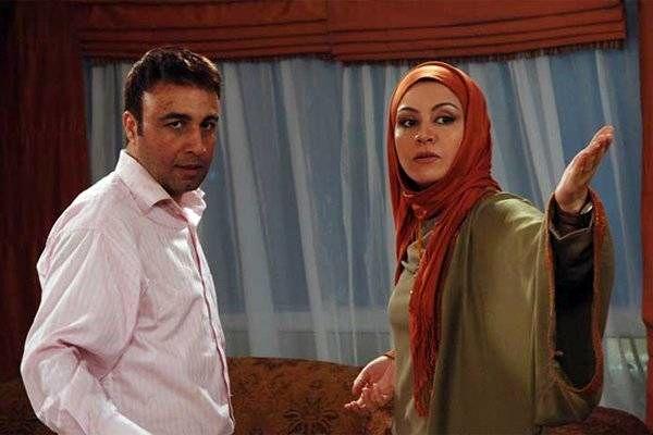 مریلا زارعی و رضا عطاران