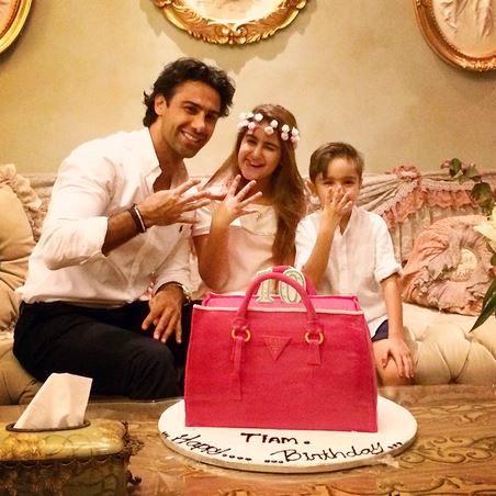 فرهاد مجیدی در کنار همسر دومش / تصاویر