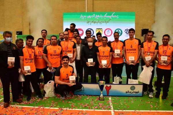 باشگاه «مس شهربابک» نایب قهرمان لیگ برتر والیبال نشسته کشور شد