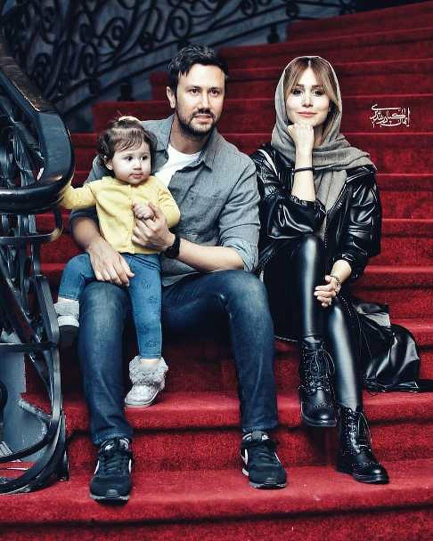 عاشقانه های سپیده بزمی پور برای همسرش شاهرخ استخری + تصاویر دیده نشده