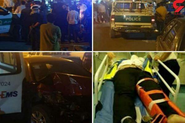 تصادف مرگبار آمبولانس و برلیانس / 14 کشته و زخمی در دماوند + عکس