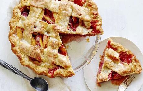 طرز تهیه کیک پای هلو در روز جهانی کیک پای هلو + طرز تهیه خمیر پاستری