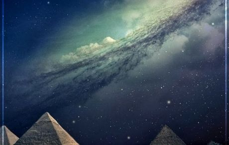 کهکشان راه شیری در آسمانِ شب