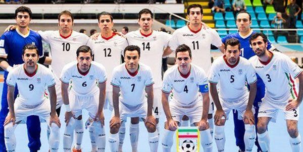 فوتسال ایران با یک پله صعود در رده چهارم جهان قرار گرفت+عکس