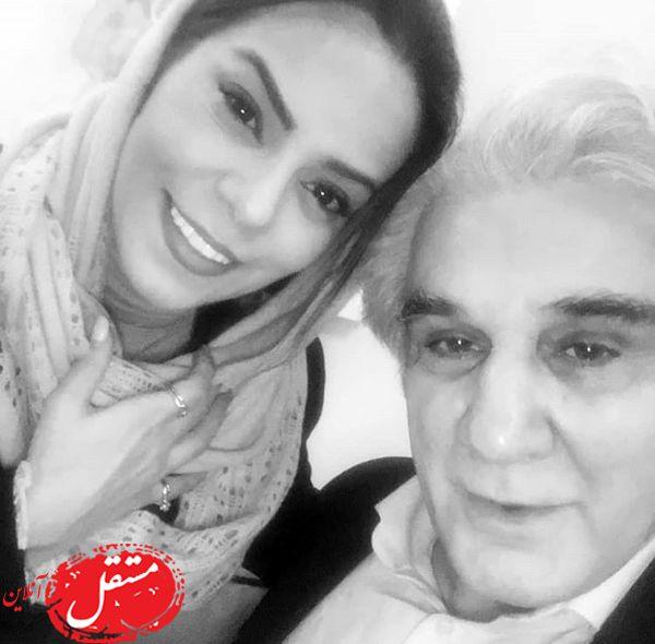سلفی آقای بازیگر با همسرش دومش + عکس