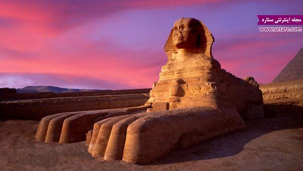 مجسمه ابوالهول، مصر، جیزه، فلات جیزه، فرعون، خفره