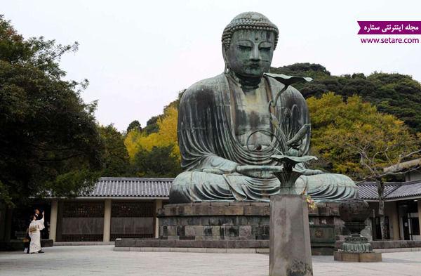 بودای بزرگ، کاماکورا، ژاپن، مجسمه بودای بزرگ