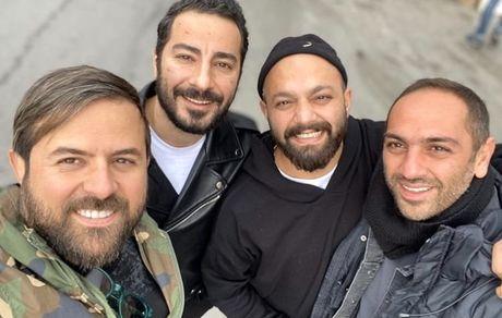 سلفی هومن سیدی و نوید محمدزاده با صابر ابر + عکس
