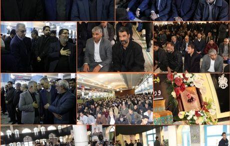حضور مدیرعامل شرکت مس در منزل سردار شهید سلیمانی