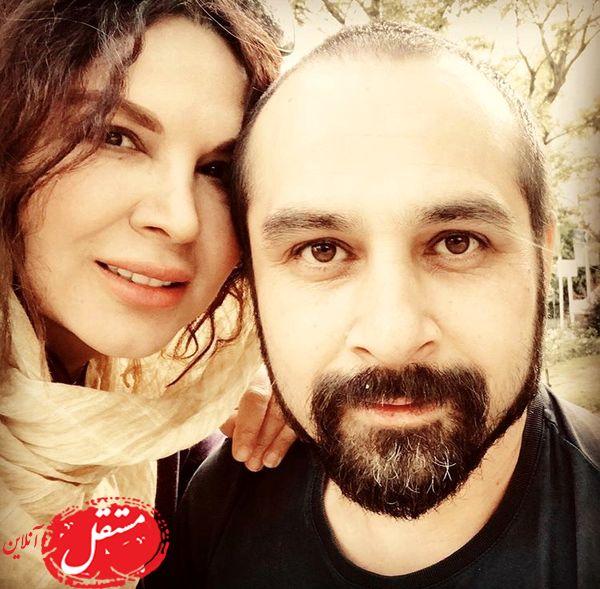 شهره سلطانی و همسرش + عکس