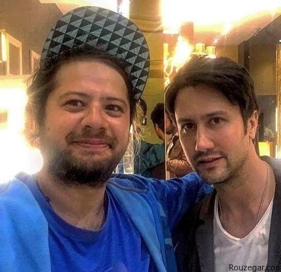 شاهرخ استخری و علی صادقی