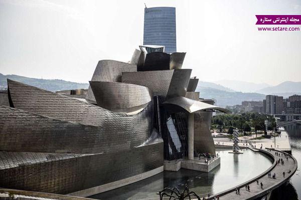 موزه گوگنهایم، بیلبائو، اسپانیا، فرانک گری