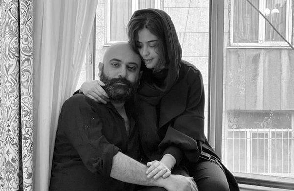 دابسمش عاشقانه ریحانه پارسا با مهدی کوشکی + فیلم و عکس