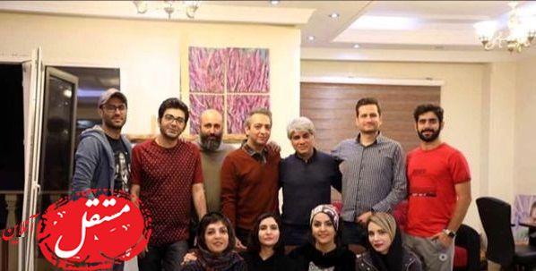 دورهمی دوستانه فرزاد حسنی + عکس