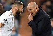زیدان: بنزما در تاریخ باشگاه رئال مادرید مانند رونالدو است