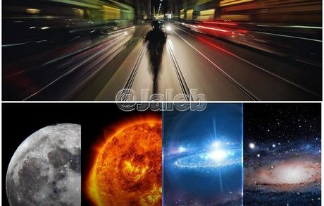 اگر با سرعت نور حرکت کنیم...