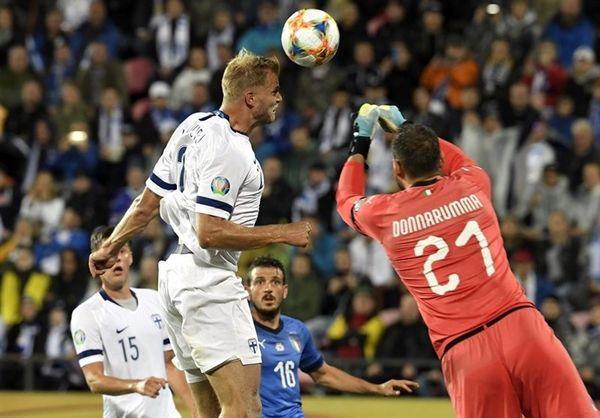 انتخابی یورو ۲۰۲۰  برتری دشوار ایتالیا در خانه فنلاند/ پیروزی اسپانیا در شب رسیدن راموس به رکورد کاسیاس
