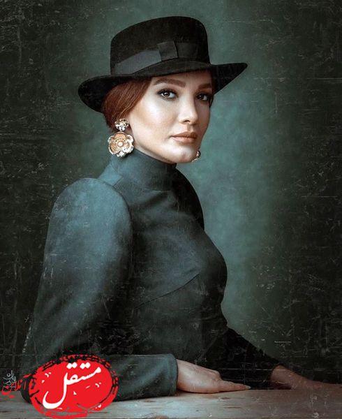 خانم بازیگر با استایل ماقبل میلادیش + عکس