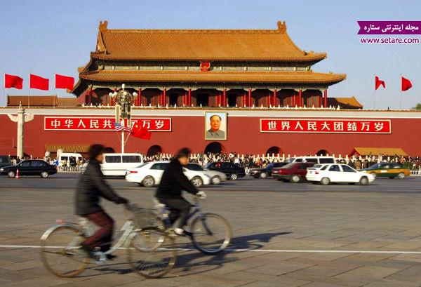 میدان تیان آن من، پکن، چین، قتل عام طرفداران دموکراسی، دروازه صلح آسمانی در چین