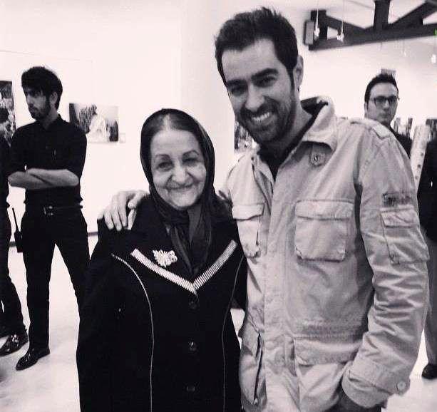 شهاب حسینی و مادرش