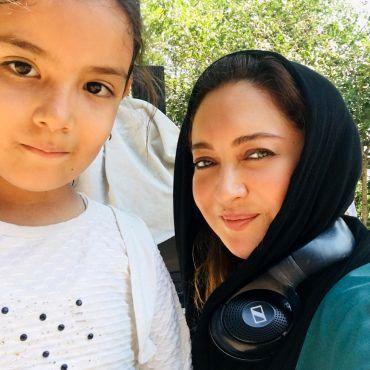 نیکی کریمی در کنار دختر خوب این روزهایش + عکس