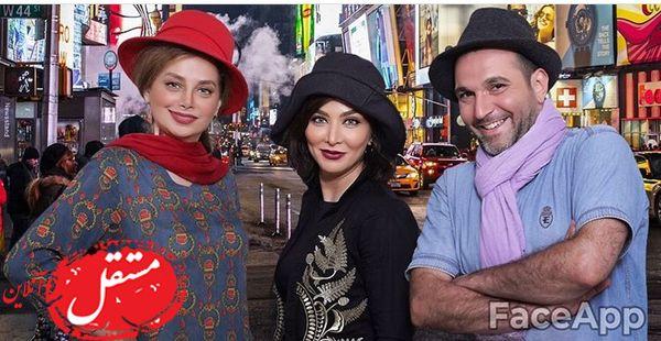 فقیه سلطانی و دوستانش در خارج از کشور + عکس