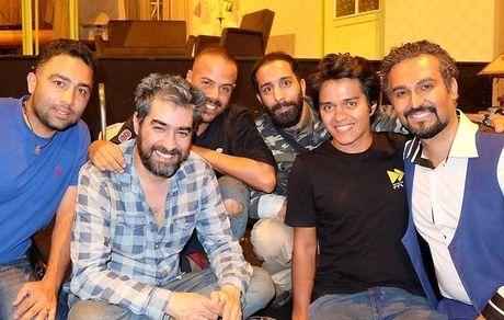 شهاب حسینی در جمع دوستانش + عکس
