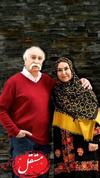 زوج دوست داشتنی و پیشکسوت سینمای ایران + عکس