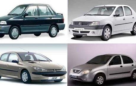 آخرین قیمت خودرو های ایرانی 24 اردیبهشت + جدول